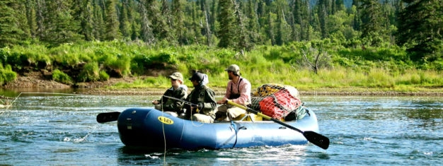 Guided fly in float trips Alaska