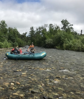 Katmai float trips fly fishing