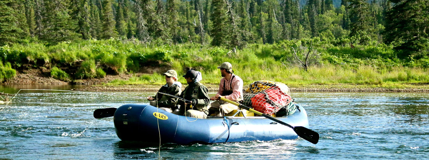 how to organize an alaska fly fishing float trip