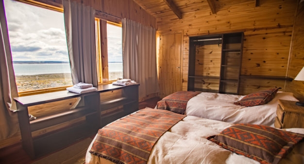 Sleeping arrangements at Jurassic Lake Lodge