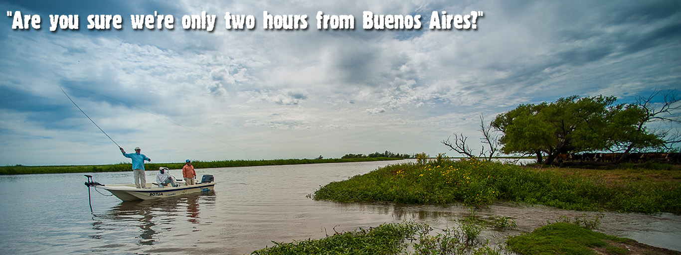 fly fishing near buenos aires