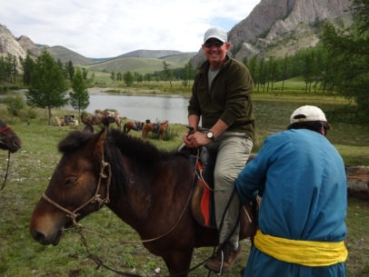 Back country Taimen fishing by horseback