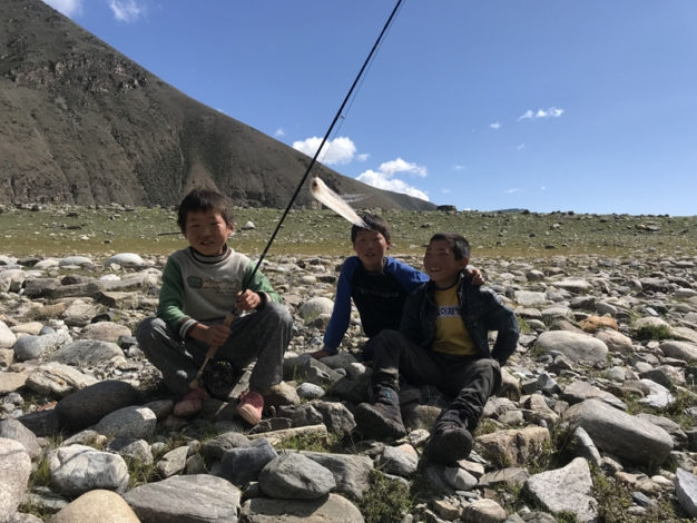 Mongolia Youth fishing education