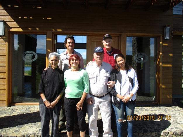 Alejandro Goni Enrique Garcia Lago Rosario Lodge