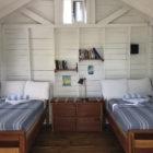 Bedrooms at Cayo Frances Flats Bum Belize Lodge