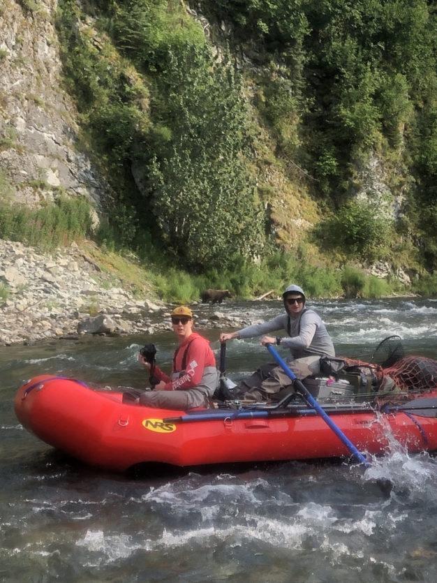 Katmai rivers for fly fishing